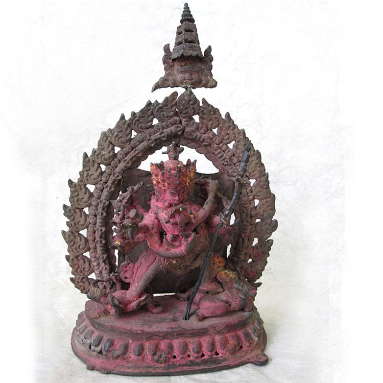 Tibetan Ritual Objects - 19th Century Bronze Chakrasamvara